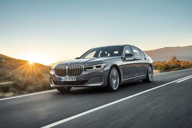 BMW Seria 7 facelift