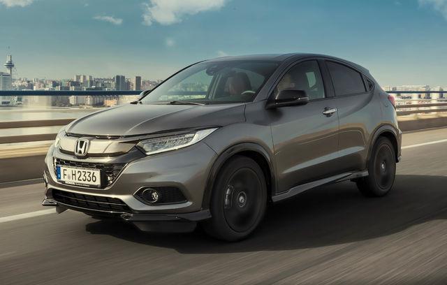 Honda HR-V facelift