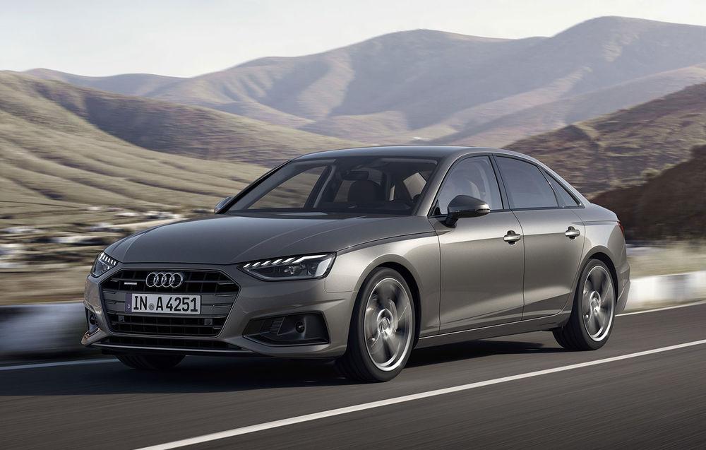 Audi A4 facelift