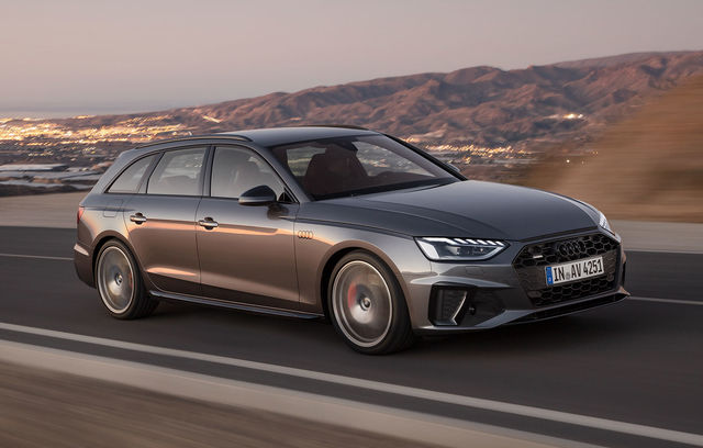 Audi A4 Avant facelift