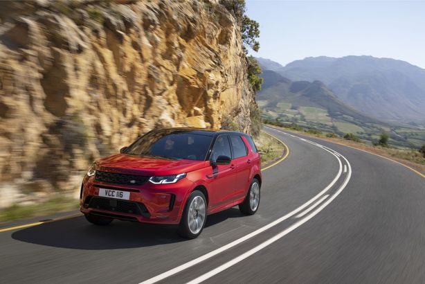 Land Rover Discovery Sport facelift