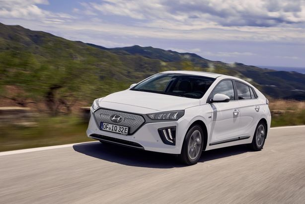 Hyundai Ioniq electric facelift
