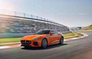 F-Type Coupe SVR