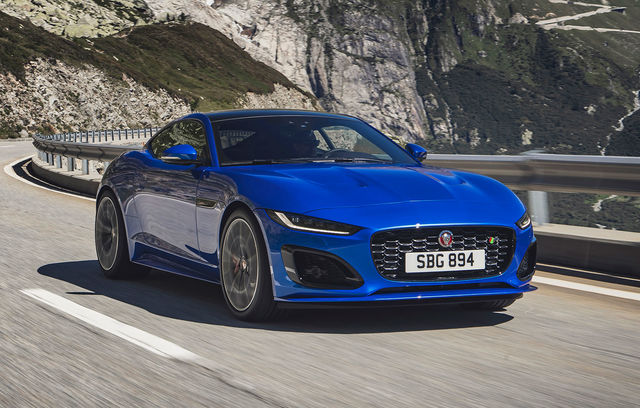 Jaguar F-Type Coupe facelift