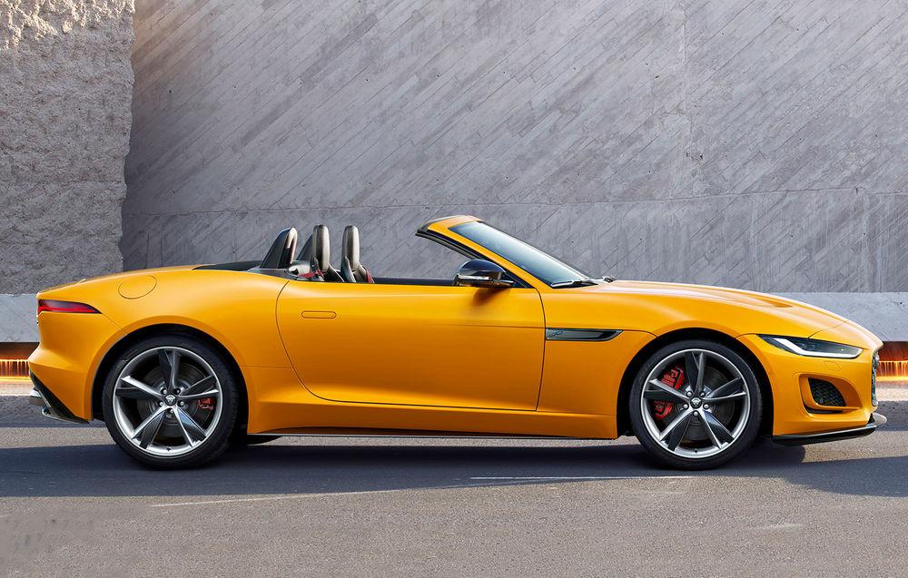 Jaguar F-Type Cabrio facelift