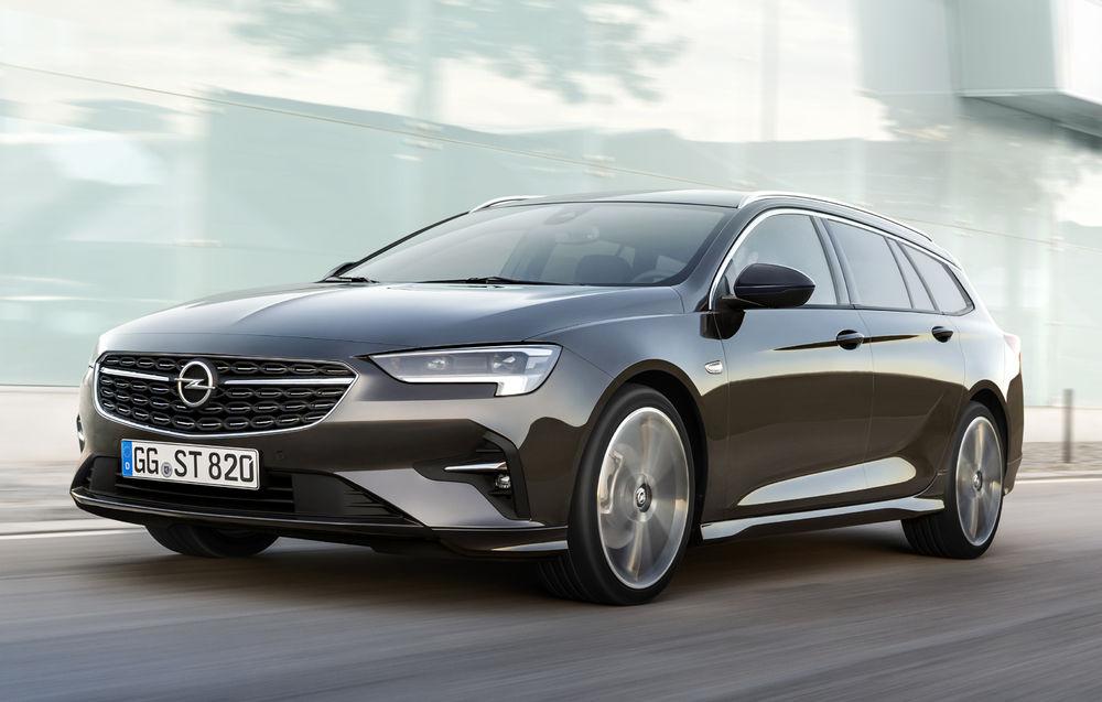 Opel Insignia Sports Tourer facelift