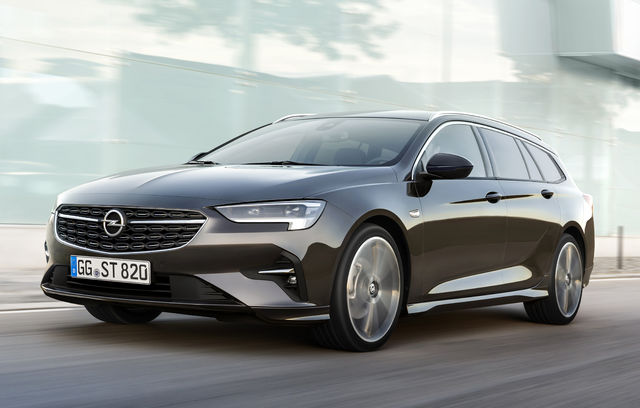 Opel Insignia Sports Tourer facelift