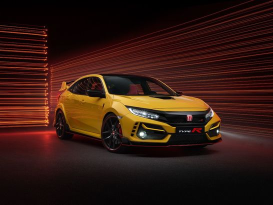 Honda Civic Type R facelift