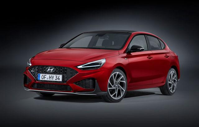 Hyundai i30 Fastback facelift