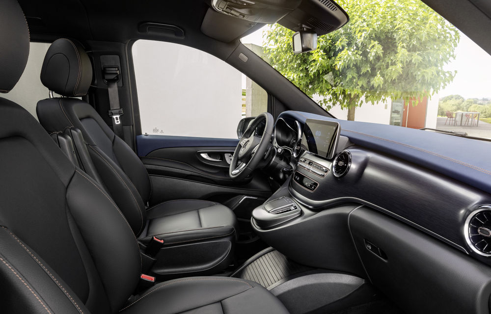 Monovolumul electric Mercedes-Benz EQV este disponibil în România: prețurile încep de la aproape 74.000 de euro - Poza 3