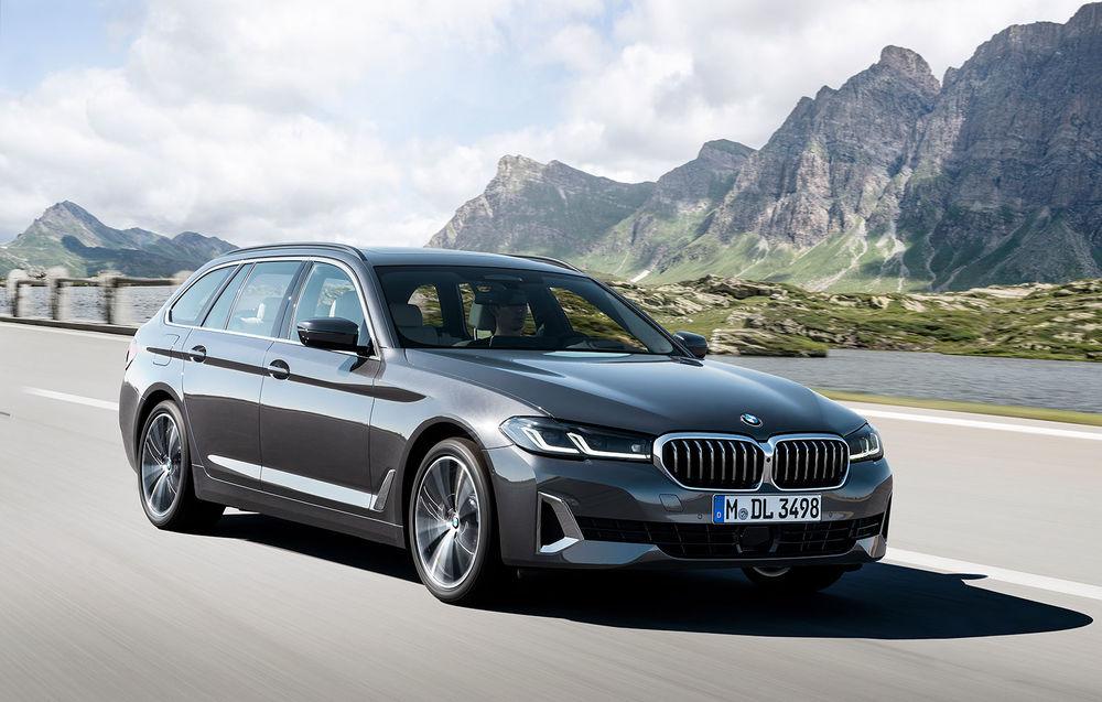 BMW Seria 5 Touring facelift