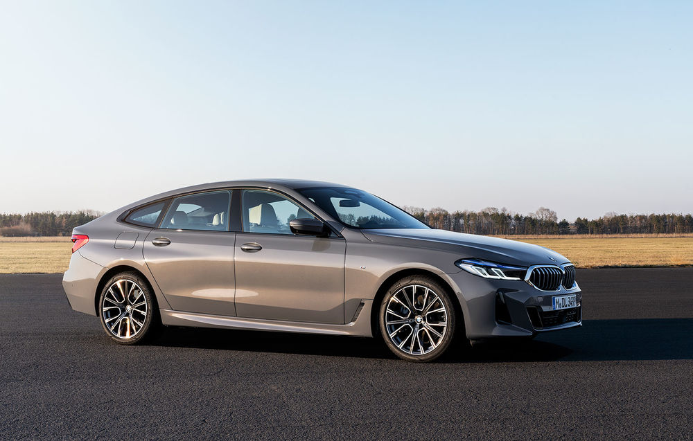 BMW Seria 6 GT facelift