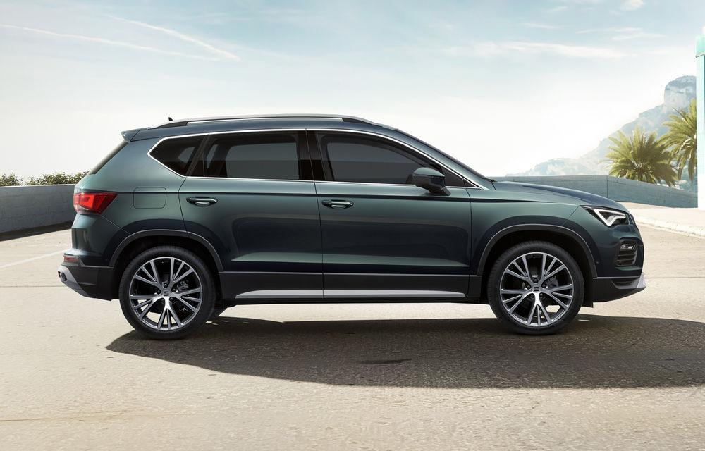 Seat prezintă Ateca facelift: îmbunătățiri de design, sistem de infotainment de 9.2 inch și motoare de până la 190 de cai putere - Poza 2