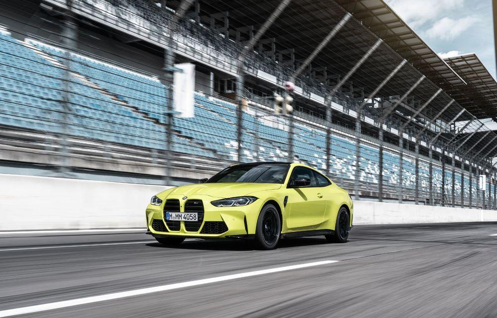 Primele imagini camuflate cu noile generații BMW M3 și M4 Coupe: modelele de performanță vor fi prezentate la jumătatea lunii septembrie - Poza 2