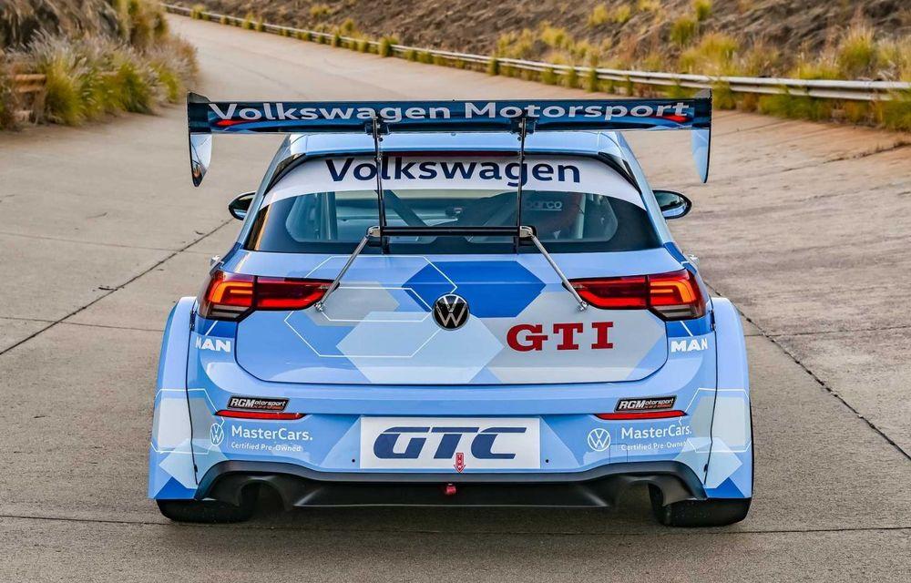 Volkswagen a prezentat noul Golf 8 GTI GTC: modelul de circuit va fi utilizat în seria Global Touring Cars din Africa de Sud - Poza 2