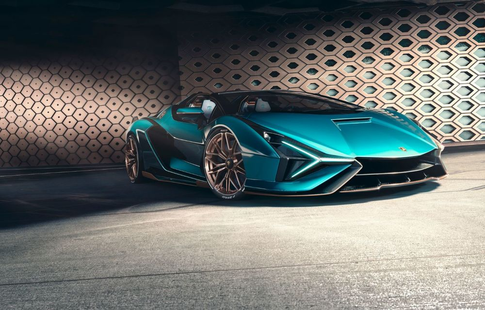Lamborghini a prezentat noul Sian Roadster: hypercar-ul cu sistem mild-hybrid și 819 CP va fi limitat la 19 unități - Poza 2