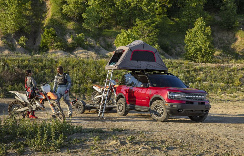 Ford a prezentat noua generație a modelului pentru off-road Bronco: motoare de până la 310 cai putere, versiune Sport și variante cu două și patru uși - Poza 2