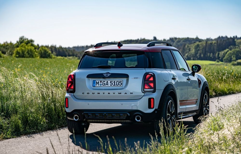 Mini a prezentat versiunea John Cooper Works Countryman facelift: mici îmbunătățiri estetice și motor de 2.0 litri cu 306 CP - Poza 2