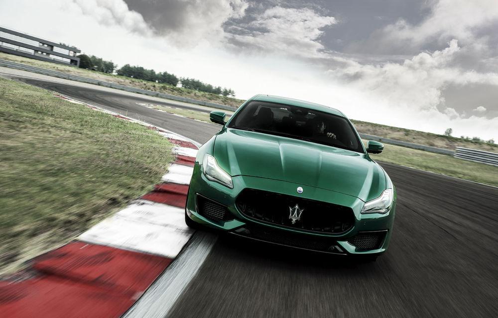 Maserati Ghibli și Quattroporte primesc versiuni de performanță Trofeo cu motor V8 de 580 de cai putere. Noutăți și pentru Levante Trofeo - Poza 2