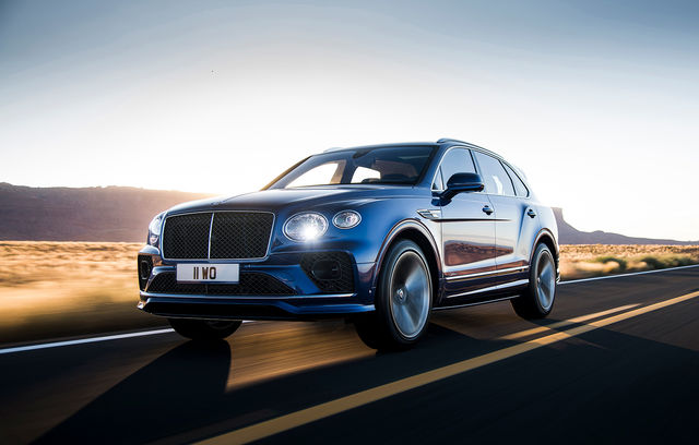 Bentley Bentayga Speed facelift