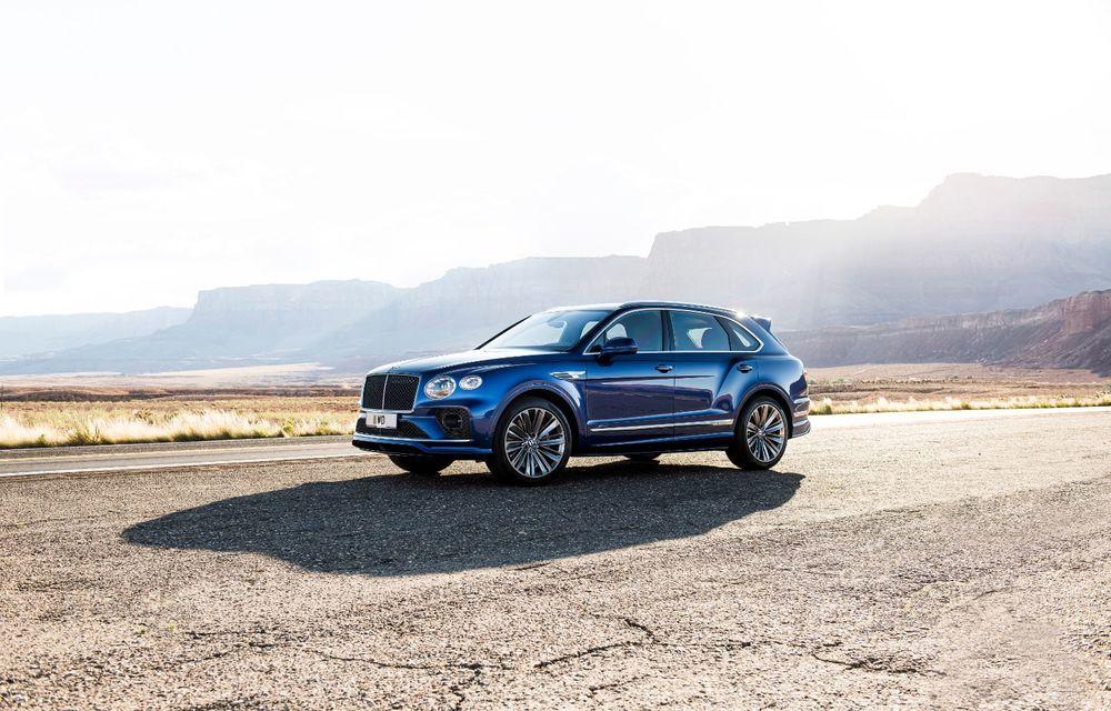 Bentley lansează Bentayga Speed facelift: SUV-ul britanic păstrează motorul W12 de 6.0 litri cu 635 de cai putere - Poza 2