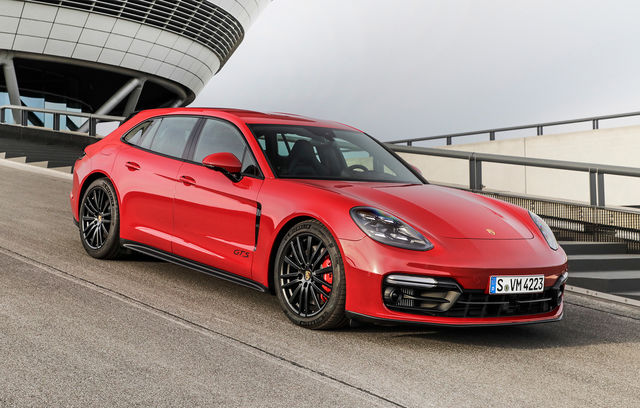 Porsche Panamera Sport Turismo facelift