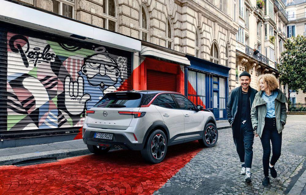 Noua generație Opel Mokka: primele imagini și detalii referitoare la versiunile cu motoare convenționale - Poza 4