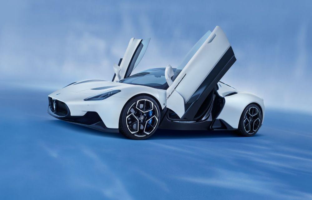 Maserati a prezentat noul MC20: supercar-ul cu motor V6 de 630 CP are o viteză de top mai mare de 325 km/h - Poza 6