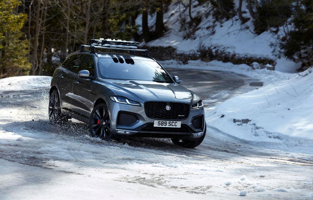 Jaguar F-Pace facelift: SUV-ul de segment mediu primește îmbunătățiri la interior și versiune plug-in hybrid de peste 400 de cai putere - Poza 5