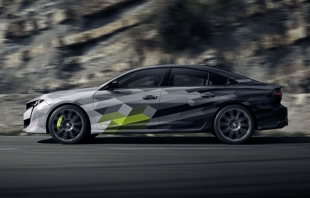 Detalii complete despre Peugeot 508 Sport Engineered: sportiva are sistem plug-in hybrid de 360 de cai putere și autonomie electrică de 42 de kilometri - Poza 5