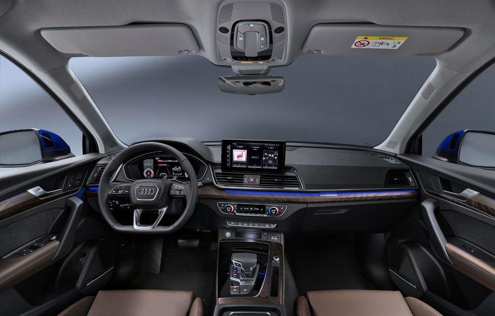 Audi a prezentat Q5 Sportback: SUV-ul coupe va avea versiuni plug-in hybrid și variantă SQ5 cu 347 CP - Poza 4