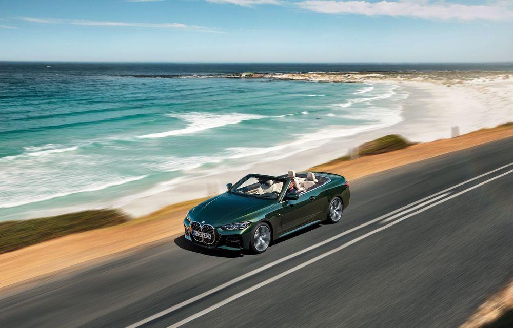BMW a prezentat noul Seria 4 Convertible: plafon soft-top și versiune de top cu 374 de cai putere - Poza 6