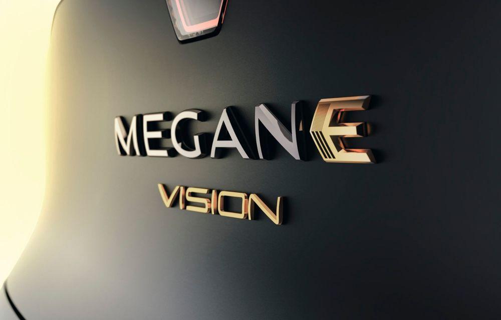 Renault prezintă noul concept electric Megane eVision: 217 CP și autonomie medie mixtă de până la 450 de kilometri - Poza 4