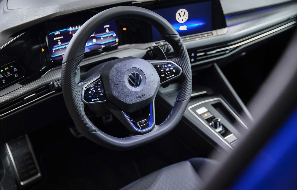 Primele imagini și informații tehnice despre noul Volkswagen Golf R: cel mai puternic Golf din istorie are 320 de cai putere - Poza 4