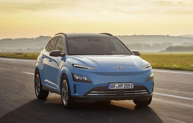 Hyundai Kona Electric facelift