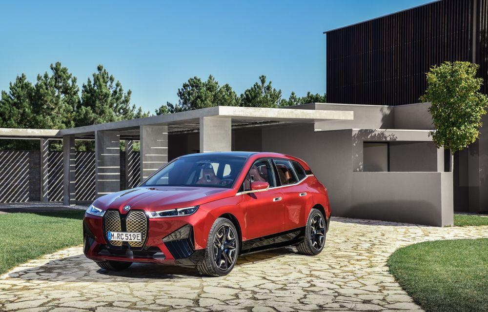 BMW iX este SUV-ul electric derivat din conceptul futurist iNext: peste 500 CP și autonomie mai mare de 600 de kilometri - Poza 6