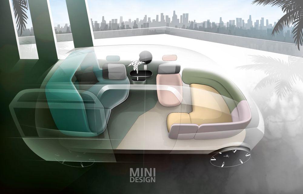 Mini a prezentat Vision Urbanaut: studiul de design anticipează tehnologiile și interiorul mașinilor autonome ale constructorului britanic - Poza 6